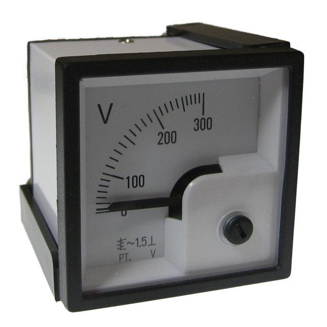 48x48 Voltmeter 0-300v AC