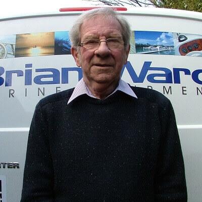 Brian Ward the founder of Brian Ward Marine Equipment