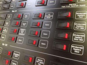 Brian Ward Marine Equipment - Control Panels