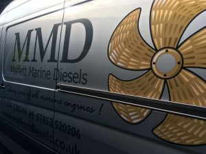 Brian Ward Marine Equipment - Graphics