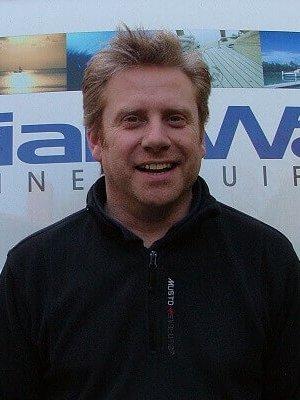 Jonathan Ward of Brian Ward Marine Equipment