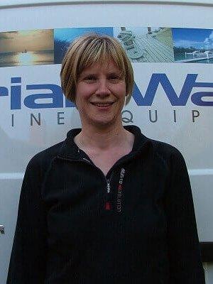 Tanya Ward of Brian Ward Marine Equipment