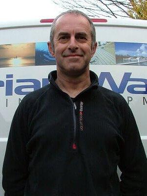 Tim Ellis of Brian Ward Marine Equipment